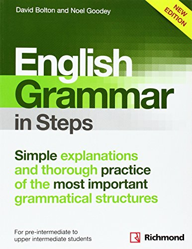 9788466817554: NEW ENGLISH GRAMMAR IN STEPS BOOK WITHOUT ANSWERS - 9788466817554