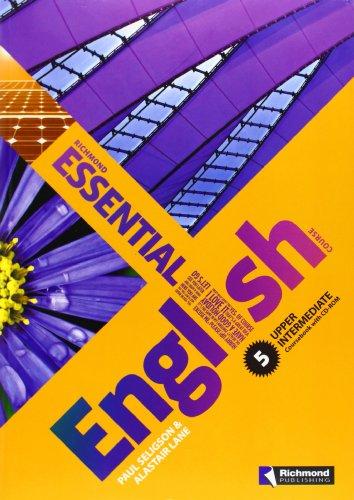 9788466818575: Essential english. Coursebook. Con espansione online. Per le Scuole superiori. Con CD Audio. Con CD-ROM: Essential English 5 Student'S Pack - 9788466818575