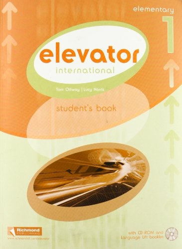 9788466819480: Elevator Student's Book Pack: Elementary Level 1 (Elevator International)