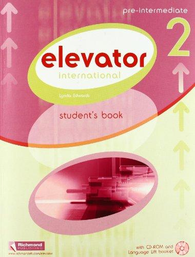 9788466819497: Elevator. Pre-Intermediate. Student's book-Langauge lift. Per le Scuole superiori. Con CD-ROM: INTERNATIONAL ELEVATOR 2 STUDENT'S BOOK: 1 (Elevator International) - 9788466819497