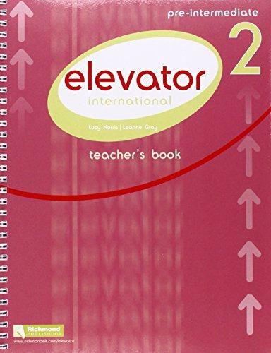 9788466819534: Elevator Teacher's Pack: Elevator 2 Teacher's Book & Resource Bank & CD Pre-Intermediate B1 Pre-intermediate Level 2