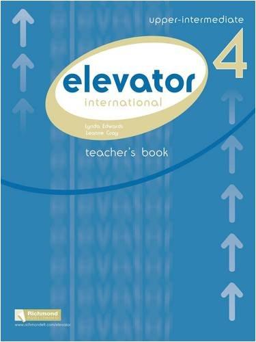 9788466819558: Elevator Teacher's Pack: Elevator 4 Teacher's Book & Resource Bank & CD Upper Intermediate B2 Upper Intermediate