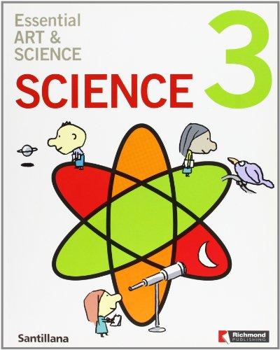 9788466819923: Essential art & science, 3 Educación PriMaría