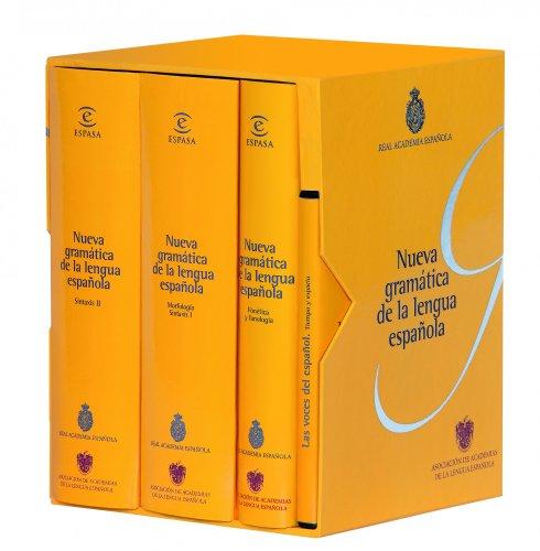 9788467000016: Nueva gramática de la lengua española (Pack): Fonética y fonología. Morfología. Sintaxis (NUEVAS OBRAS REAL ACADEMIA)