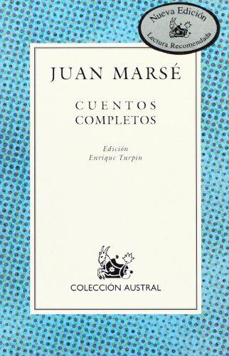 9788467003147: Cuentos completos de Juan Marse (Spanish Edition)