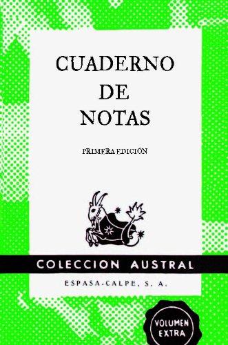 9788467008395: Cuaderno de notas verde 9x14cm (AUSTRAL EDICIONES ESPECIALES)