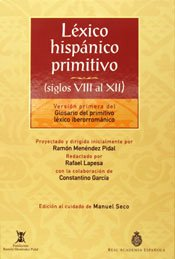 9788467010541: Léxico hispánico primitivo