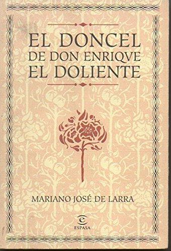 9788467013771: Doncel de don Enrique el doliente, el (Nuevo Austral)