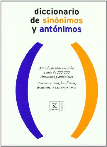 9788467019476: Diccionario de sinónimos y antónimos. Edición actualizada