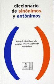 Diccionario de sinónimos y antónimos: Pilar Cortés (Directora editorial)