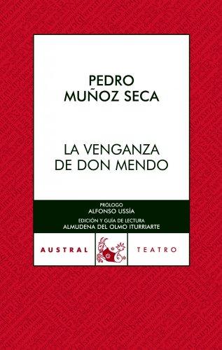 9788467021899: La venganza de Don Mendo (Teatro)