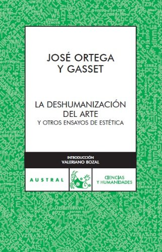 9788467022247: La deshumanizacion del arte (Spanish Edition)