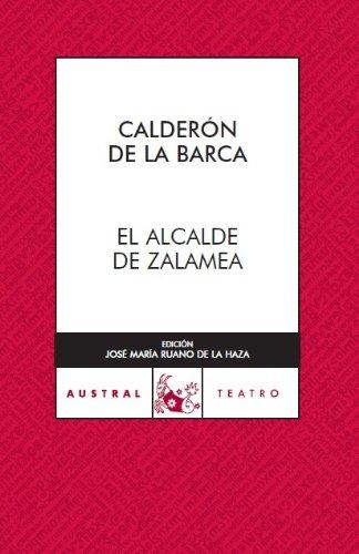 9788467022391: El alcalde de Zalamea (Teatro)
