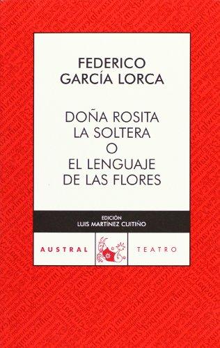 9788467023411: Dona Rosita la soltera (Spanish Edition)