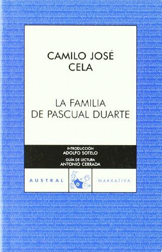 Familia Pascual Duarte C.A. 577 (Spanish Edition): Cela Conde, Camilo