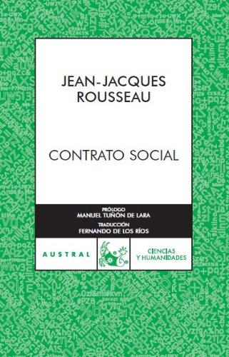 9788467023794: Contrato social (Austral) (Spanish Edition)
