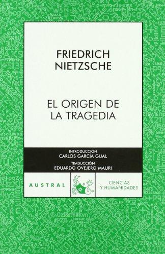 9788467023923: Origen De La Tragedia, El