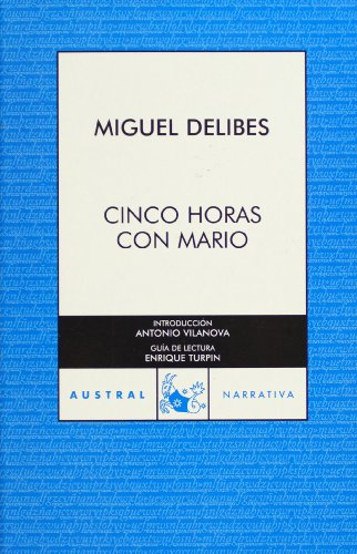 9788467024845: Cinco horas con Mario (Spanish Edition)