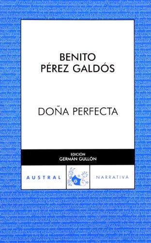 9788467025712: Doña Perfecta (Narrativa)