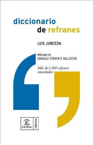9788467025873: Diccionario de refranes (DICCIONARIOS LEXICOS)