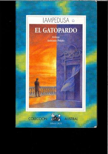 9788467025972: El gatopardo (Austral Narrativa)