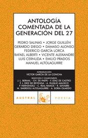 9788467026030: Antología comentada de la generación del 27 (Poesía)