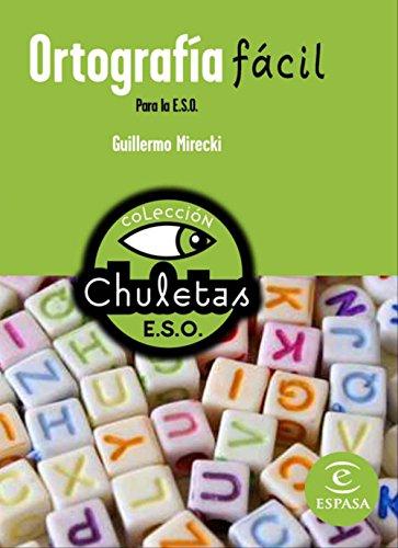 9788467027792: Ortografía fácil para la ESO (Chuletas)