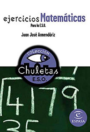 9788467027839: Ejercicios matemáticas para la ESO (CHULETAS)