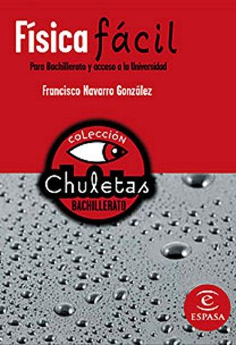 9788467027907: Física fácil para bachillerato (CHULETAS)