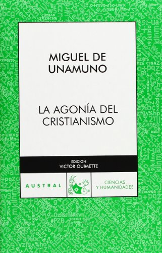 9788467029291: Agonía del cristianismo (Humanidades)