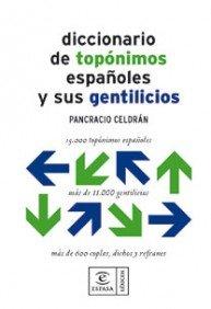 9788467030549: Diccionario de topónimos (Lexicos)