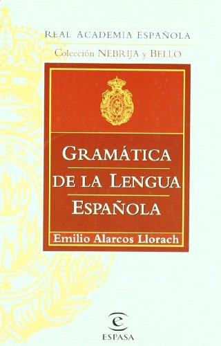 9788467032260: Gramaica de la lengua espanola
