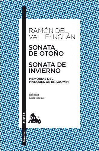 Sonata de otoño. Sonata de invierno.Ed. Leda Schiavo: Valle-Inclan, Ramon del