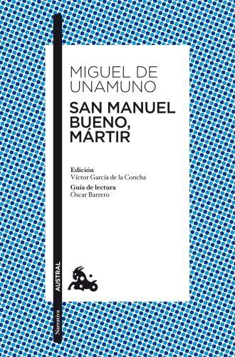 9788467034080: San manuel bueno martir