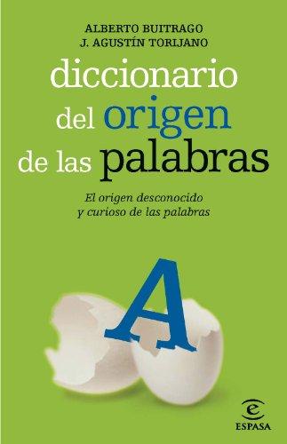 9788467036909: Diccionario del origen de las palabras (Diccionario Espasa)