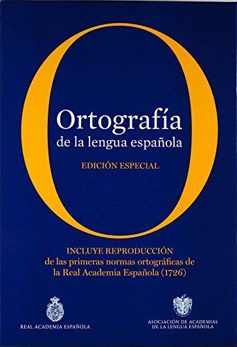 9788467038163: ORTOGRAFIA LENGUA ESPA¥OLA ED. Especial R.A.E