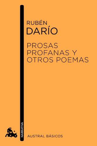 9788467040906: Prosas profanas y otros poemas (Austral Básicos)