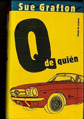 9788467204278: Q De Quién