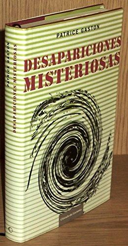9788467218367: Desapariciones Misteriosas