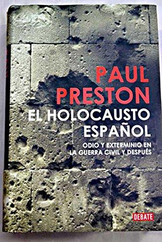 9788467245332: El Holocausto Español