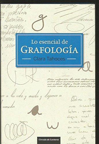 9788467252330: Lo Esencial De Grafología