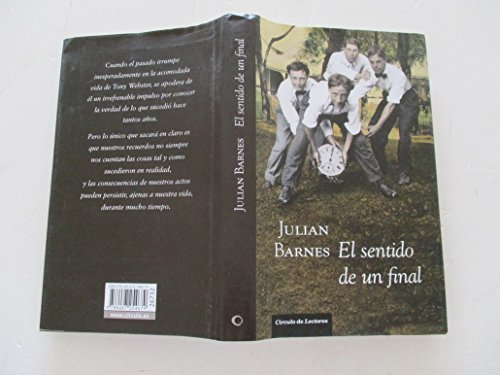 El sentido de un final de Julian Barnes: Círculo de Lectores ...