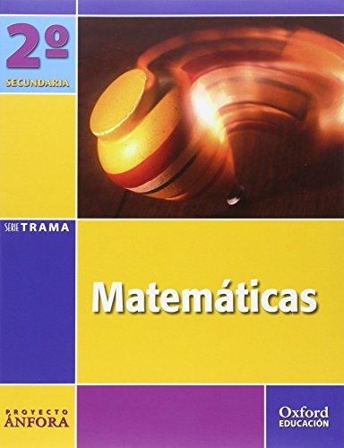 9788467305494: Matemáticas 2º ESO Ánfora Trama: Libro del Alumno - 9788467305494