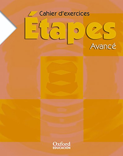 9788467316131: (06).ETAPES AVANCE.CUADERNO (FRANCES BAC.)