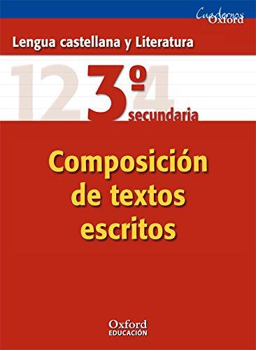 9788467323559: Lengua castellana y Literatura 3ºESO: cuaderno de Composición de textos escritos