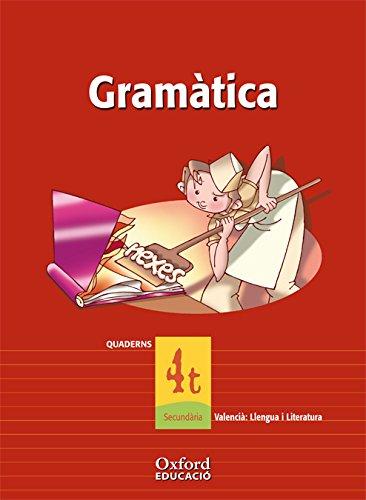 9788467324952: Valencià: Llengua I Literatura 4º ESO Exedra Quadern de gramatica (Comunitat Valenciana)