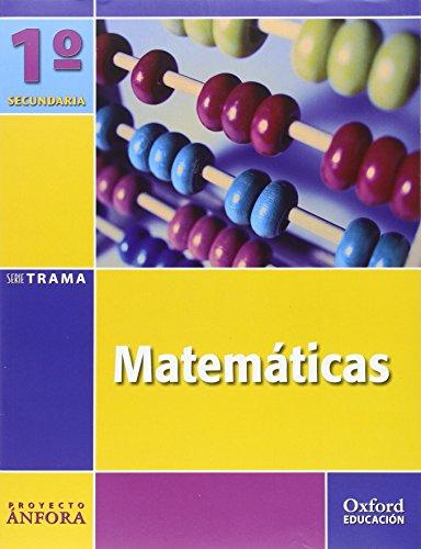 9788467325898: Matemáticas 1º ESO Ánfora Trama: Libro del Alumno - 9788467325898