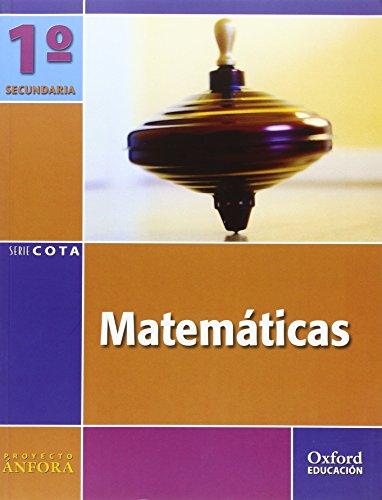 9788467329926: Matemáticas 1º ESO Ánfora Cota: Libro del Alumno - 9788467329926