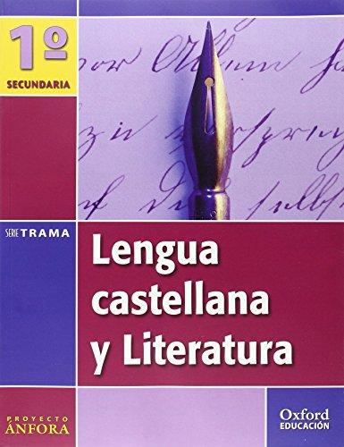 9788467330021: Lengua Castellana y Literatura 1º ESO Ánfora Trama: Libro del Alumno - 9788467330021