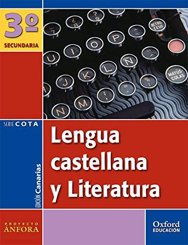 9788467331639: Lengua Castellana y Literatura 3º ESO Ánfora Cota (Canarias). Pack (Libro del Alumno + Antología) - 9788467331639